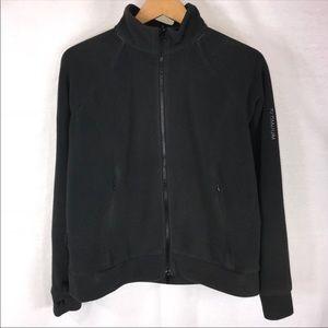 Columbia Gray Titanium Fleece Jacket • Large
